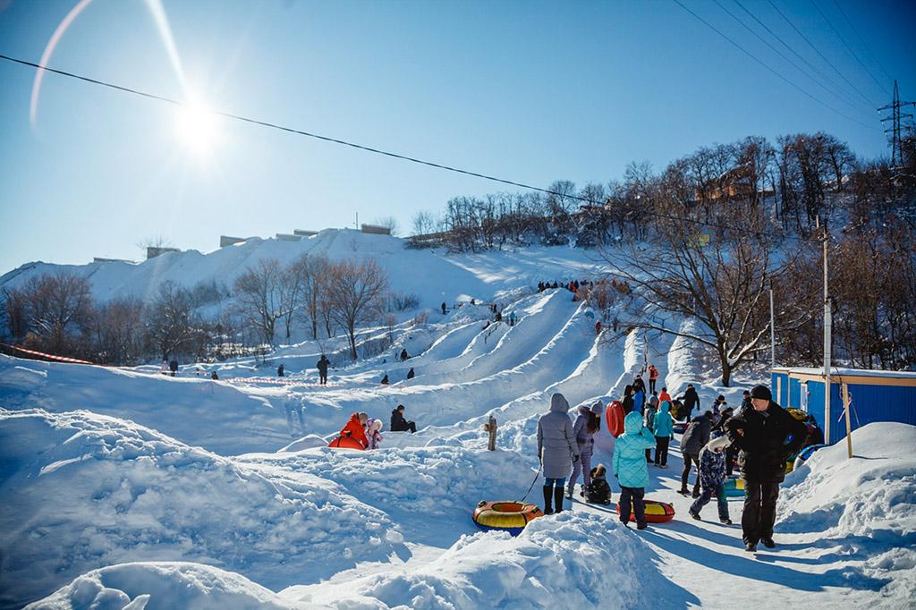 Снежный парк