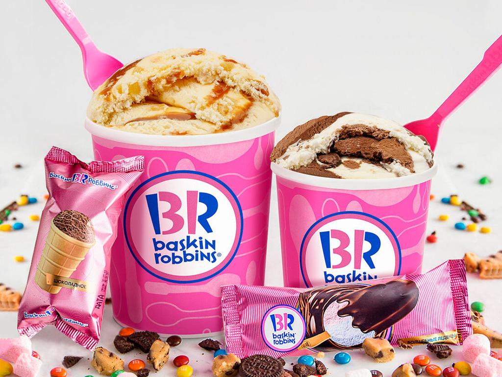 Кафе-мороженое «Baskin Robbins»