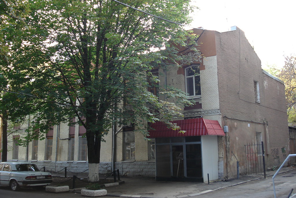 Дом жандармского подполковника С.И.Балабанова