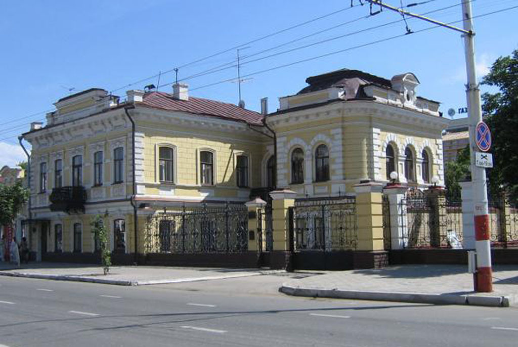 Особняк М.И.Сибриной с оградой и воротами