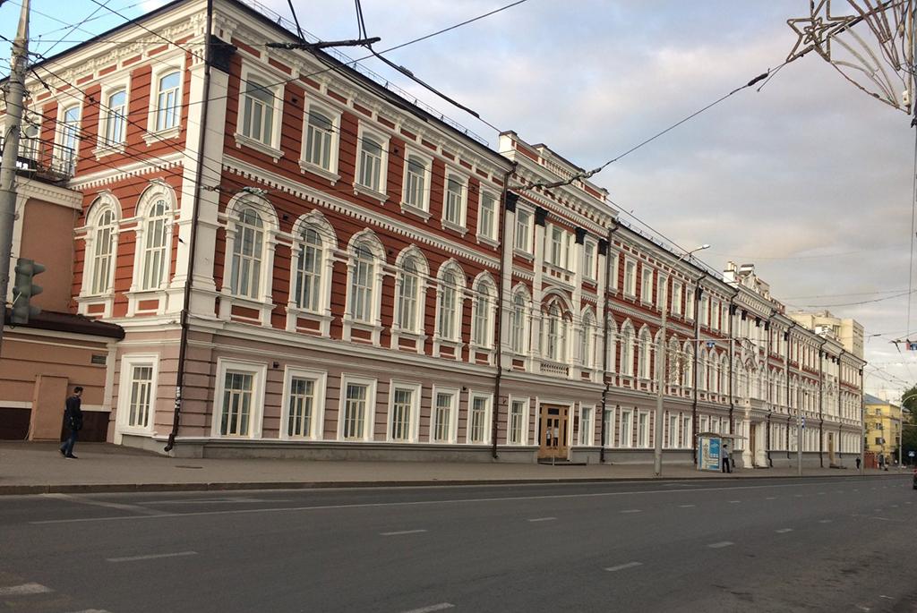 Казармы Балашовского резервного батальона