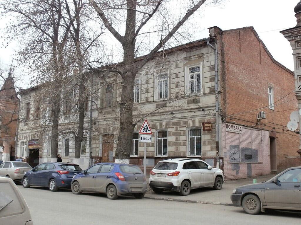 Доходный дом Е. Д. Ясинской