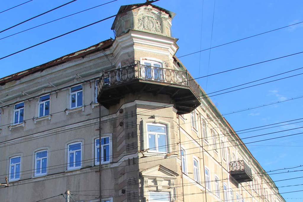 """Дом И. И. Зейферт (Гостиница """"Россия"""")"""