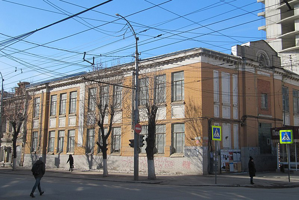 Гимназия Горенбург-Островской