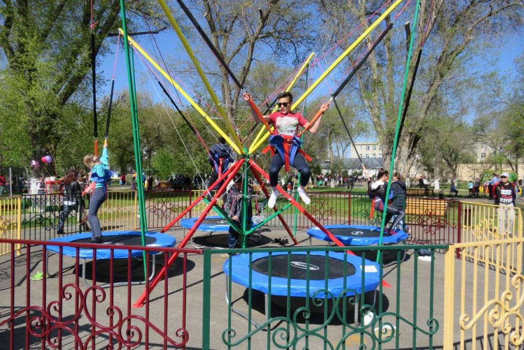 Городской парк культуры и отдыха г. Маркса
