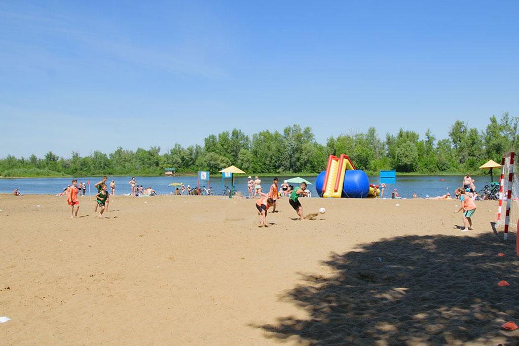 Городской пляж Маркса