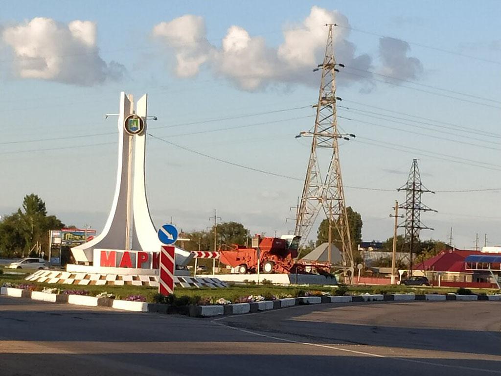 Комбайн-памятник