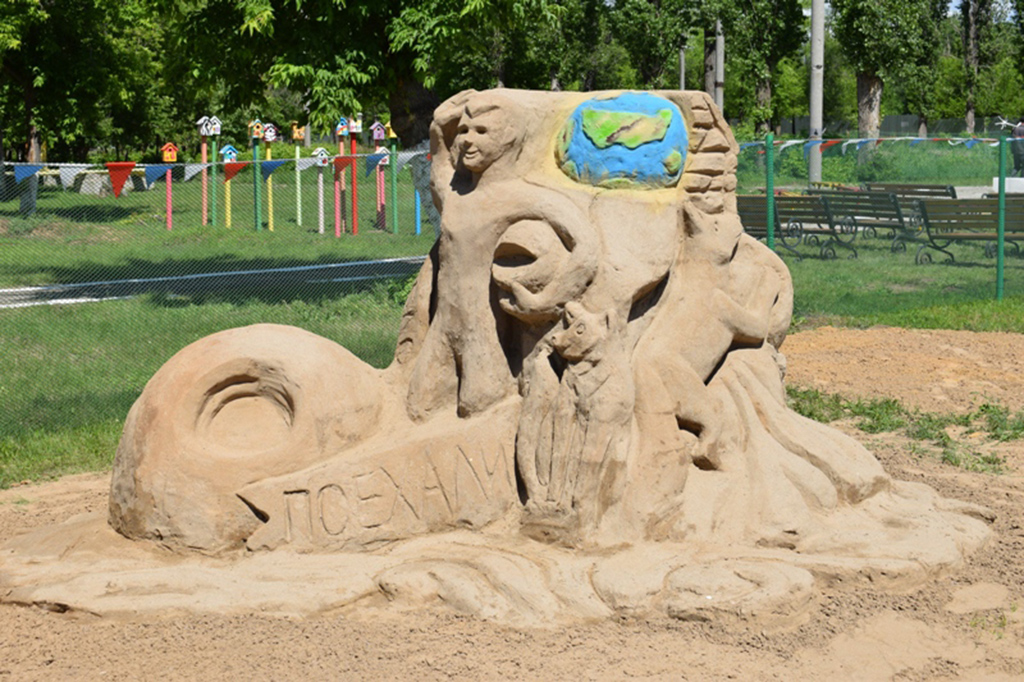 Выставка-конкурс песочных скульптур