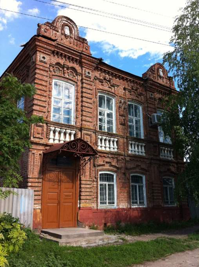 Дом Маркела Колесникова
