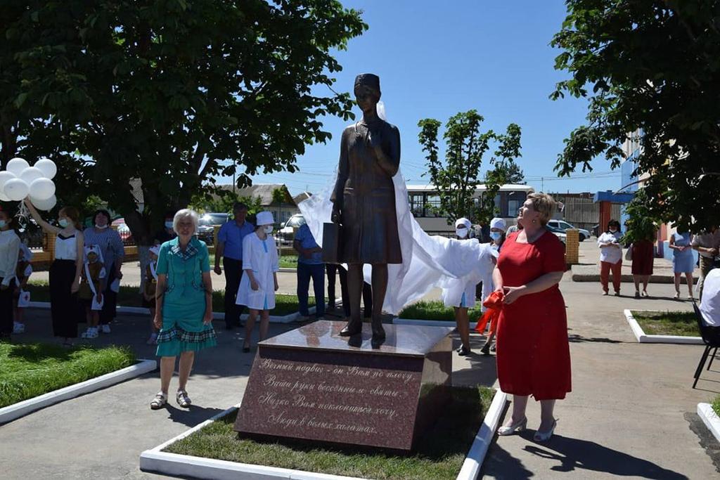 Памятник медицинским работникам