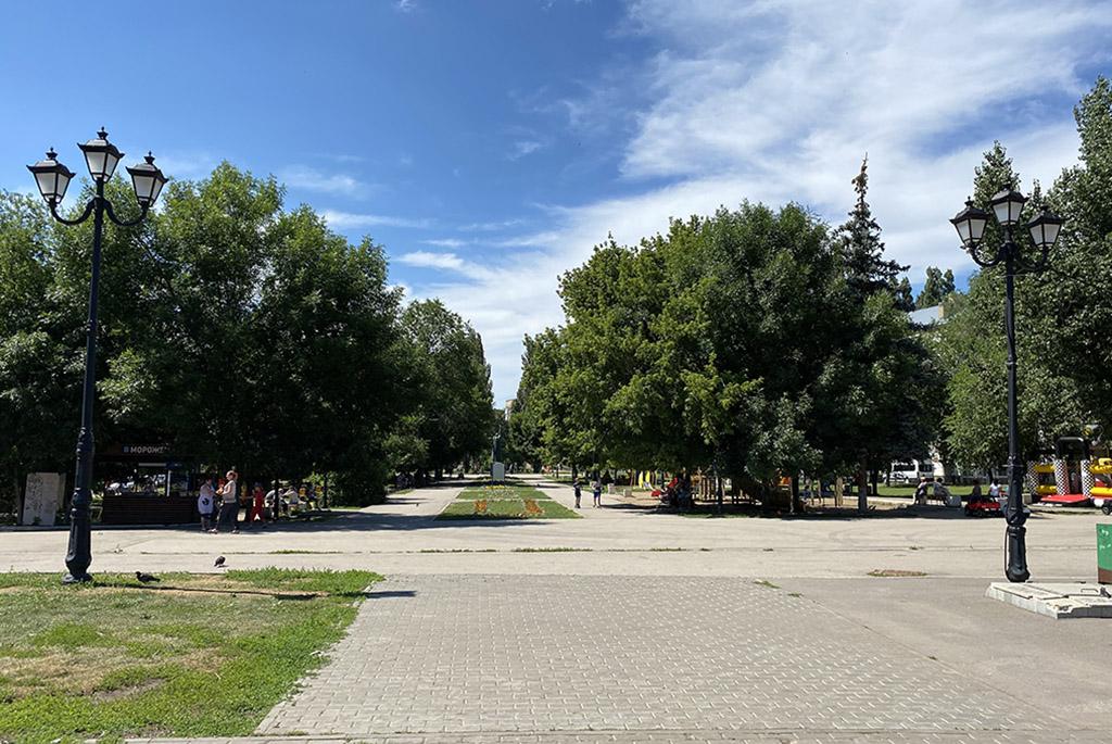 Сквер Рубин