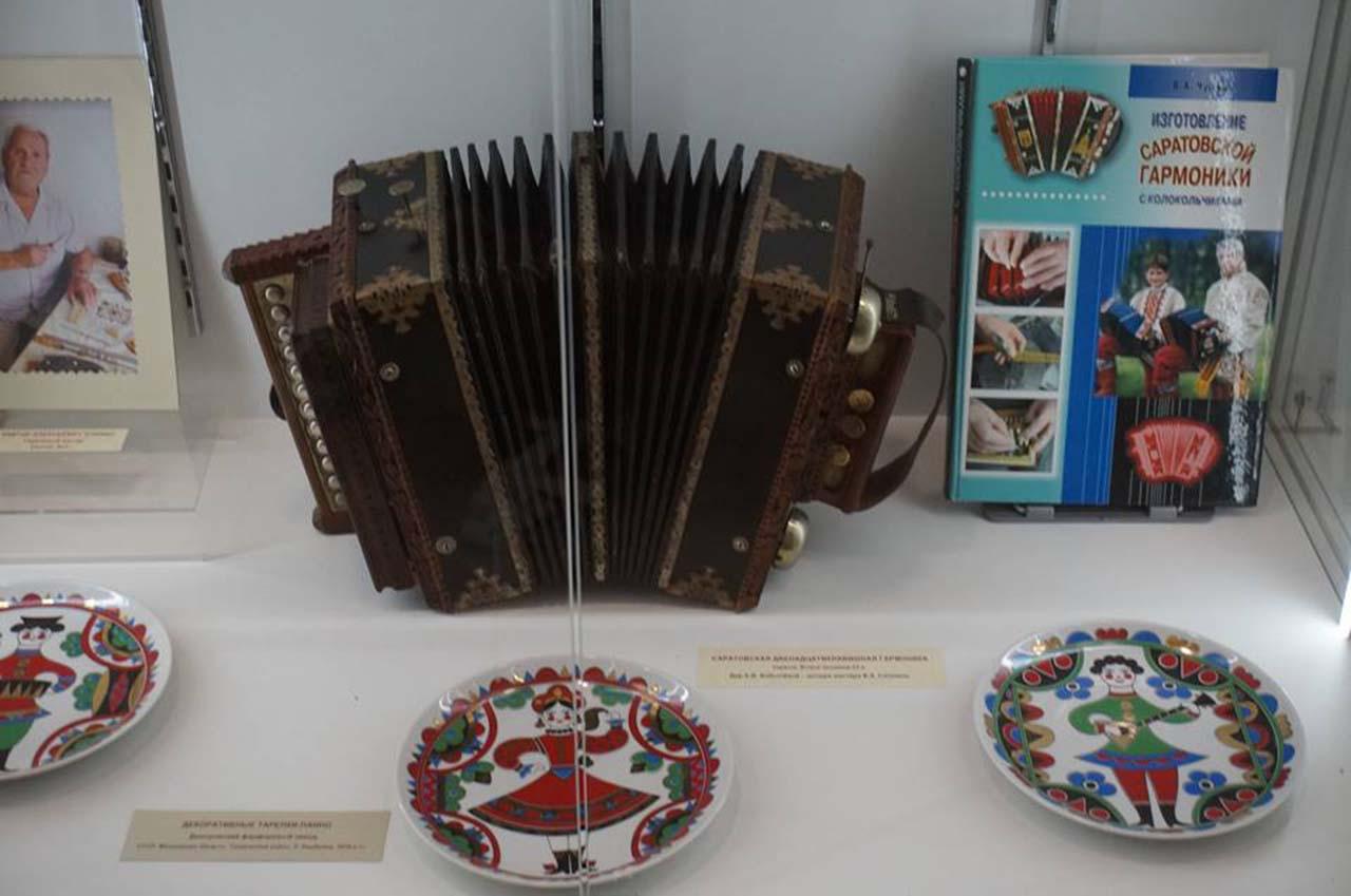 Музей саратовской гармоники имени А.С. и В.А. Комаровых
