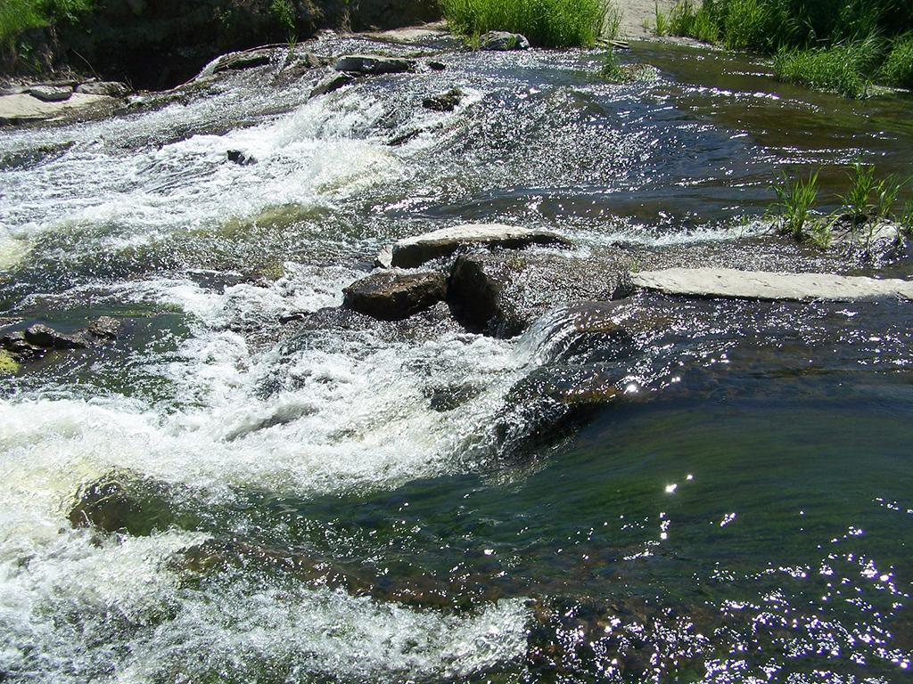 Водопад Чардымские Камни