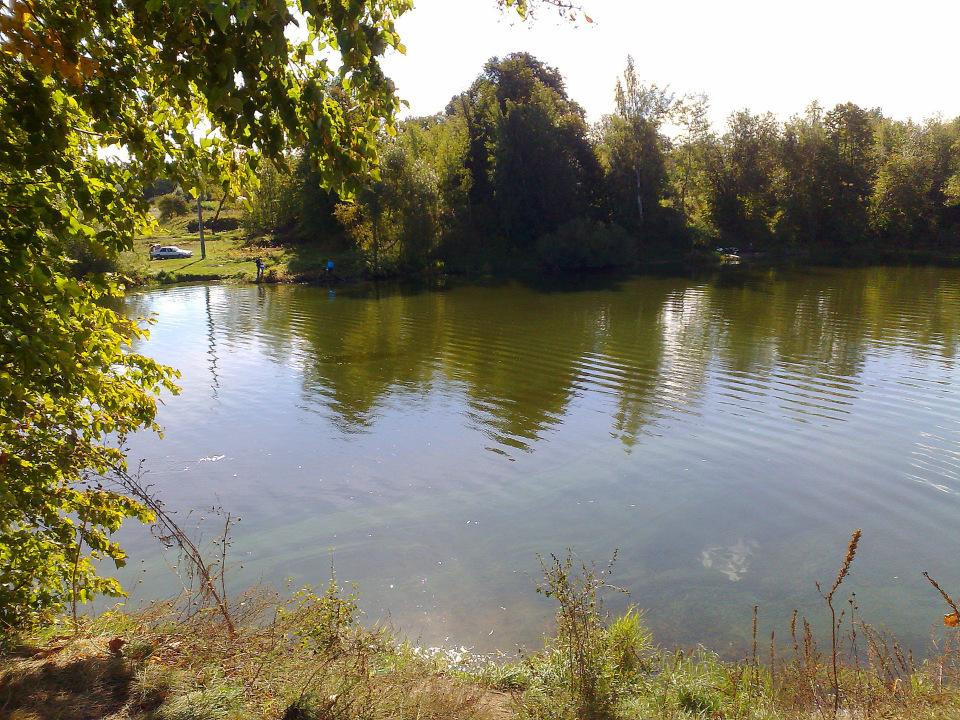 Река Лизель за с. Бобровка
