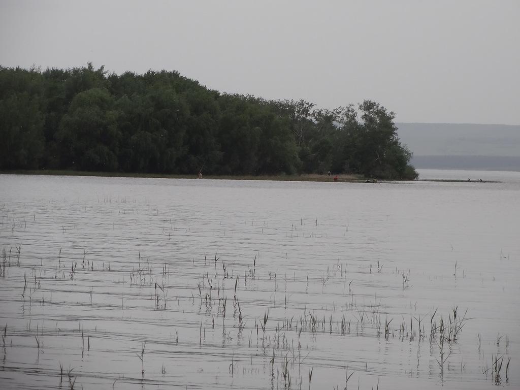 Берег Волги и устье реки Березовка