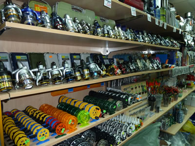 Рыболовный магазин «Камыш»
