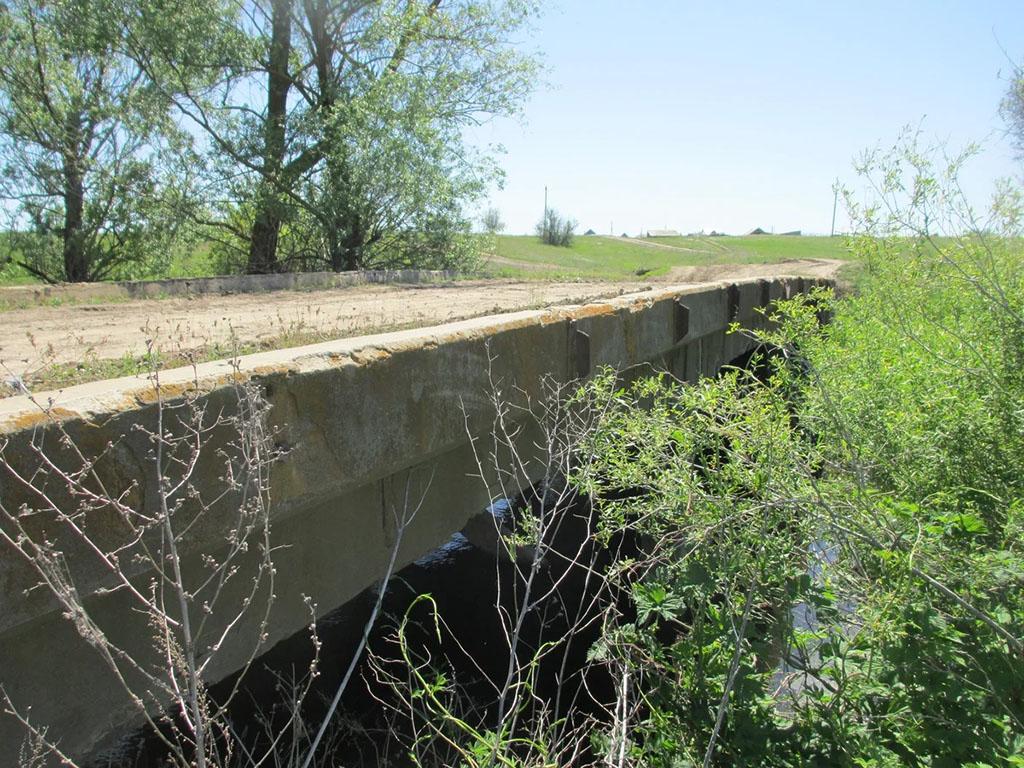 Мост через реку Елшанку
