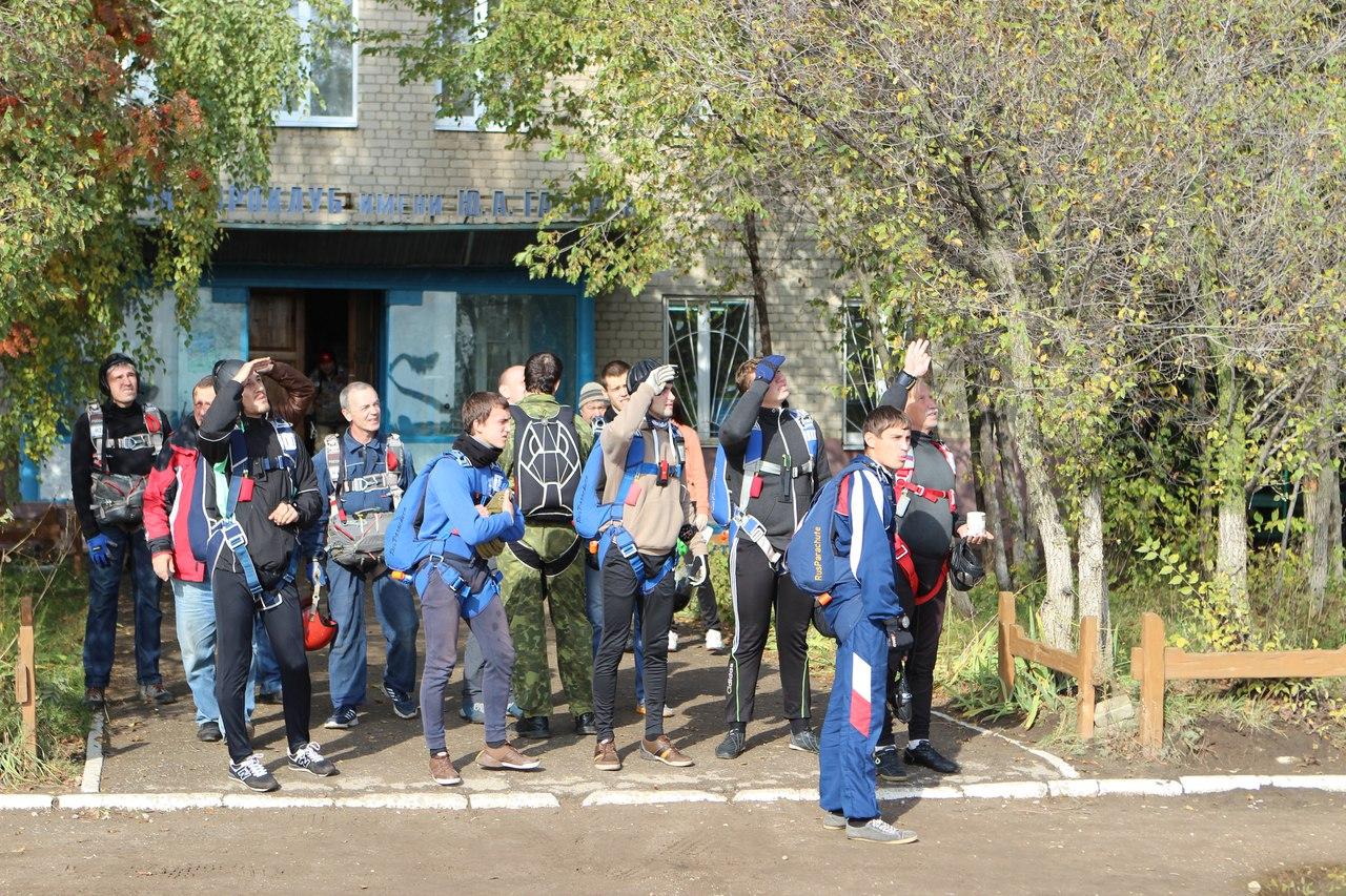Аэроклуб им.Ю.А. Гагарина Прыжки с парашютом!