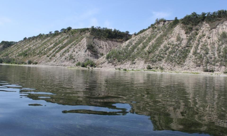 Волга под Марксом