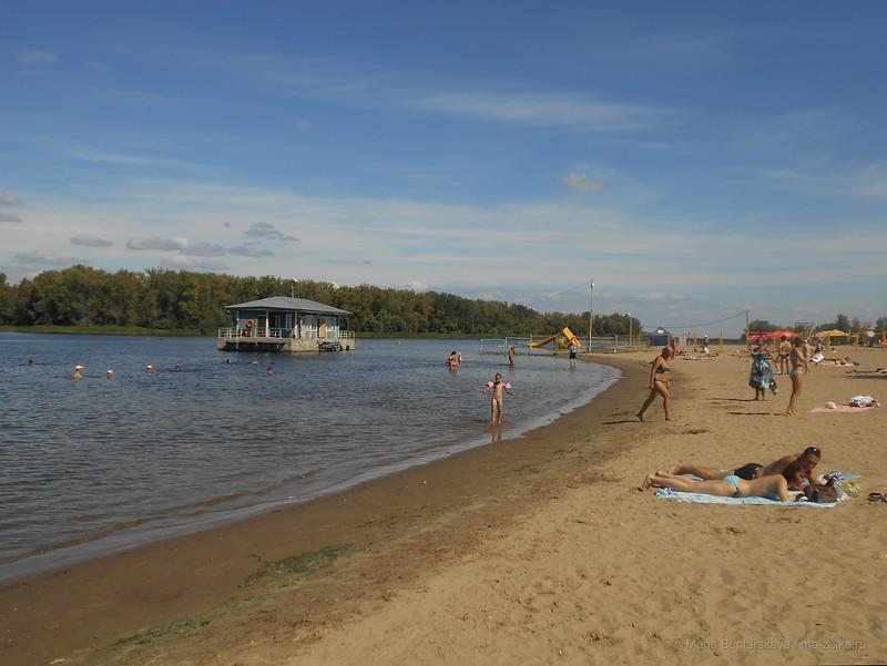 Бесплатный энгельский пляж
