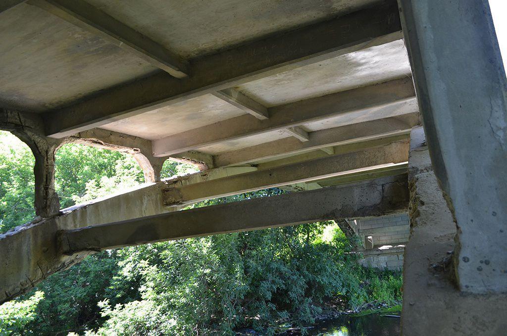 Поповский мост через Латрык