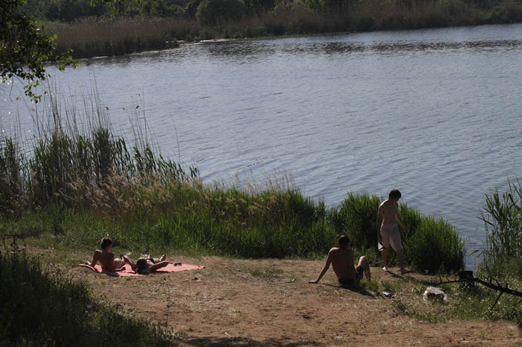 Места для пикника на Тинь-Зине
