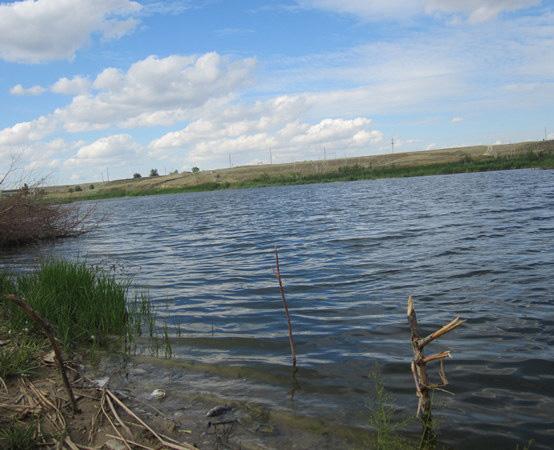Водохранилище на реке Мечетка