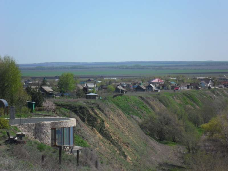 Кошелевский берег Волги