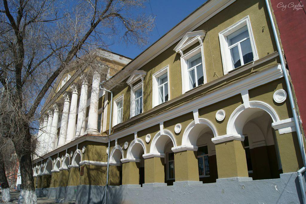 Особняк купца Ф.В. Котенева (Духовная православная семинария)