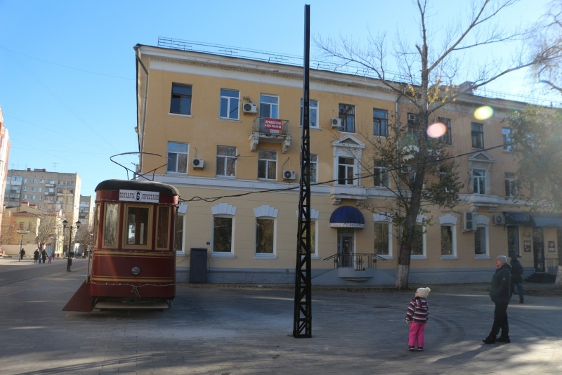 "Арт-объект ""Трамвай №6"""