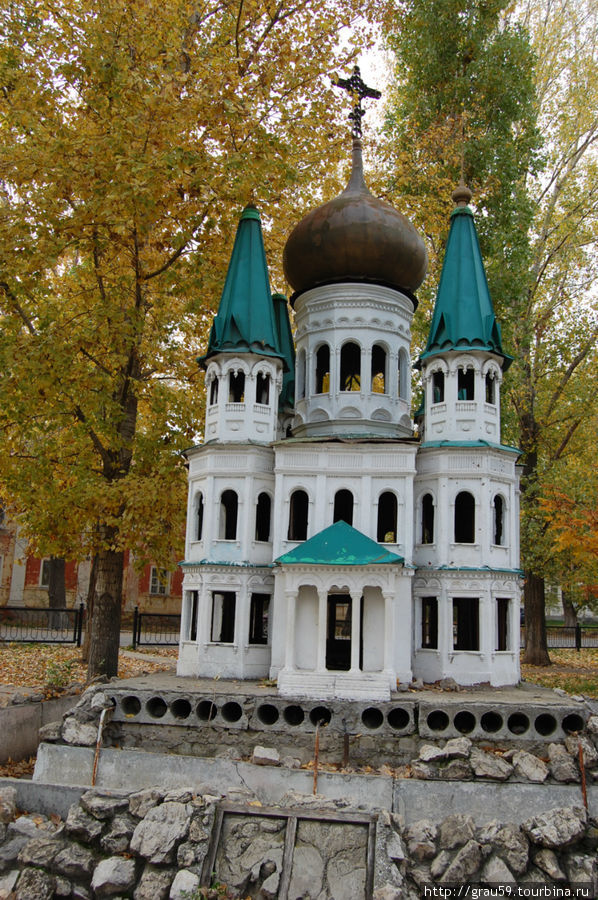 Макеты храмов