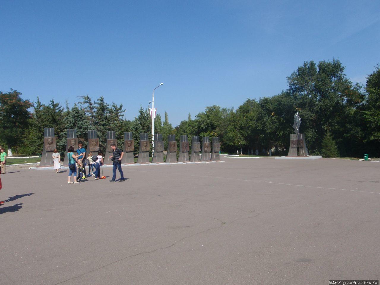 Галерея космонавтов