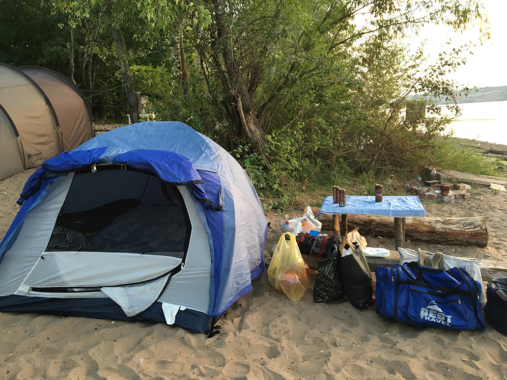 Побережье у зоны отдыха Волга
