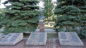 Бюст дважды Героя Советского Союза А. П. Шилина