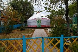 Казахское подворье «Казахская Юрта» в Национальной деревни