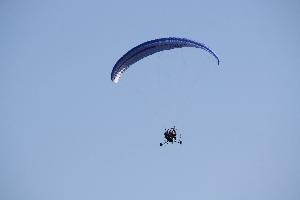База отдыха Крылатый Полетать на параплане