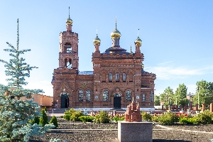 Сад храмов в Хвалынске